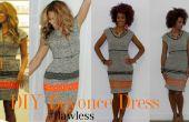 Beyonce DIY Nicole Miller inspirado vestido