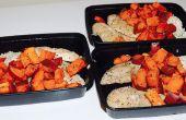 Preparación de comida saludable y asequible 101