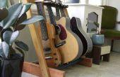 Soporte de guitarra de madera