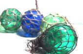 Cómo hacer flotadores de vidrio (varios colores)