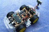 Android Smart teléfono Bluetooth Control remoto inteligente Smart auto 51 MCU (código STC89C52)
