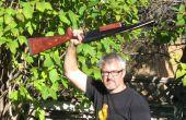 Doble cañón de la escopeta goma