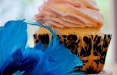 Cupcakes de vainilla de princesa hada