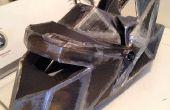 10 pasos fáciles a un casco de cartón