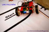 SIMPLE ROBOT seguidor de línea (solo Sensor)