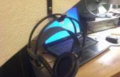 DIY soporte de auriculares