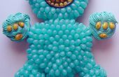 Fácil pastel de Cupcake monstruo