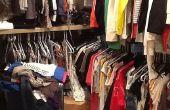 Cómo organizar un armario grande