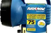 Conversión de bricolaje linterna recargable linterna LED