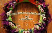 Guirnalda de Halloween monstruoso novedad