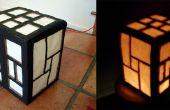 Lámpara de estilo japonés