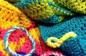 Pulseras de hilo arco iris moda DIY