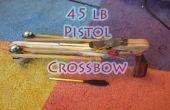 Cómo hacer una ballesta de pistola de 45 lb + Blueprints ⇔ el arte de las armas