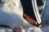 Invierno a prueba de cualquier zapato - con puntas de tracción DIY