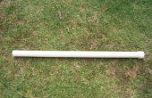 Cañón de aire de la pipa del PVC