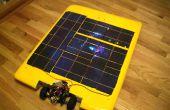Construcción de un coche accionado Solar R/C