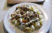 Gourmet microondas Patatas