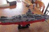 Acorazado Yamato del espacio de LEGO Starblazers