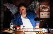 Noir de Cupido - ilustración Digital y el caos en el estudio