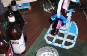 Serv O'Beer con el iPhone para el Perfect Pour
