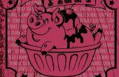Gráfico de Ziggy Piggy helado Retro