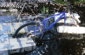 La bicicleta anfibia
