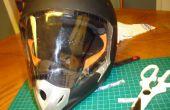Crear un Visor Simple para sus cascos integral Visorless lo contrario
