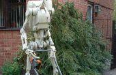 Papercraft escala 1:1 Star Wars droide de batalla.
