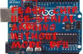Viruta de destello USB-puerto serie de Arduino sin DFU