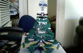 Mini árbol de Navidad de K'nex (mesa)