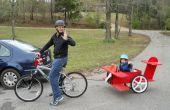 Remolque de bicicleta de niño de barón rojo