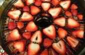 Deshidratado fresas