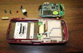 Desmontar el teléfono Samsung A737 slider