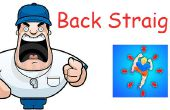 Espalda recta dispositivo de entrenamiento de lucha contra la postura. Evitar combates cae ahora!