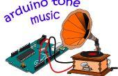 Música del tono de Arduino