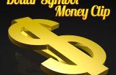 ¿Clip del dinero dólar símbolo