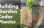 Hacer una caja de maceta para el jardín