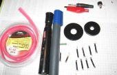Sonda de tensión alta DIY para multímetros digitales