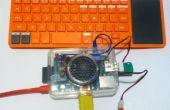 Flash LED con cero en el equipo de Kano
