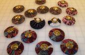 Pesas patrón de costura forrado de tela