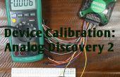 Cómo calibrar el descubrimiento análogo 2