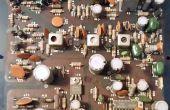 Cómo recuperar componentes de electrónica vieja o rota, sin un soldador!