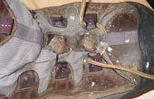 Reparación de Ripeado senderismo zapatos tela ojales rápida y fácil