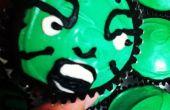 Increíble Hulk Cupcakes
