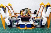 [DIY] Araña Robot (robot de Quad, cuadrúpedo)