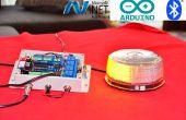Luz del estroboscópico del LED de Bluetooth TFS
