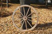 Fabricación de ruedas de carro de madera