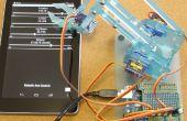 Control de remoto del brazo robótico (MeArm) con pfodApp