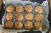 Muy muy fácil mantequilla Mini bollos de pan y ajo queso rollos