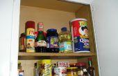 Cómo organizar el almacenamiento de armario de cocina